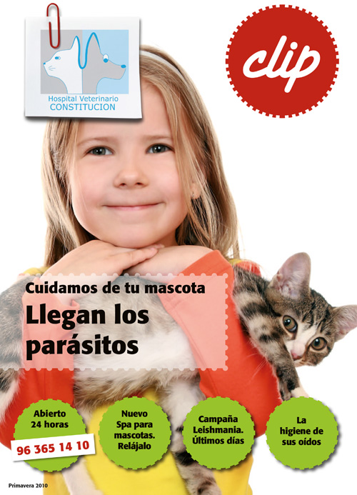 Llegan los parasitos - Hospital Veterinario Constitucion