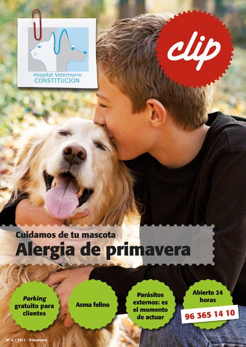 Alergia de primavera - Hospital Veterinario Constitucion
