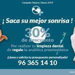 Campaña de limpieza bucal para perros y gatos en Veterinario Constitución