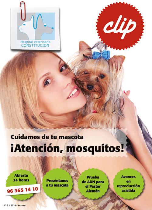 Atencion, mosquitos - Hospital Veterinario Constitucion